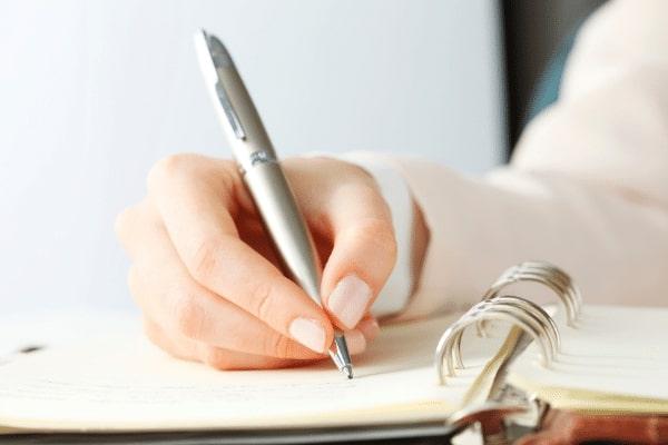 エンディング ノート 手作り