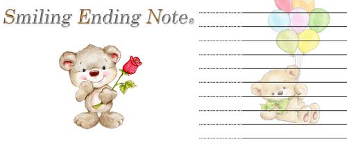 スマイリングエンディングノート Sweet bears
